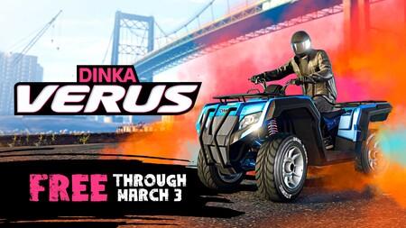 Cómo conseguir el Dinka Verus gratis en GTA Online