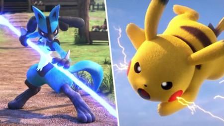 Pokken Tournament Lucario Pikachu