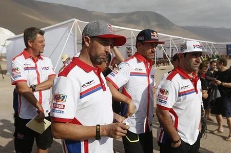Honda Etapa7 Dakar2015