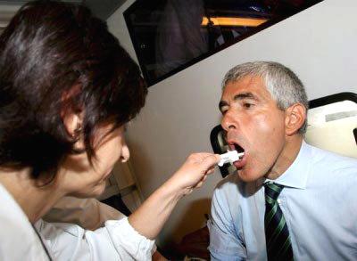 Un test de saliva indicará nuestra masa corporal