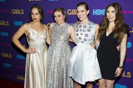 """Noche de """"Girls"""" en la premiere de la tercera temporada"""