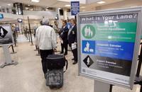 Aplicando la terminología del esquí a las colas en los aeropuertos