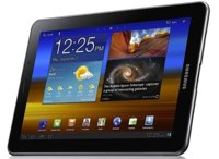 Samsung Galaxy Tab 7.7 con pantalla Super AMOLED Plus