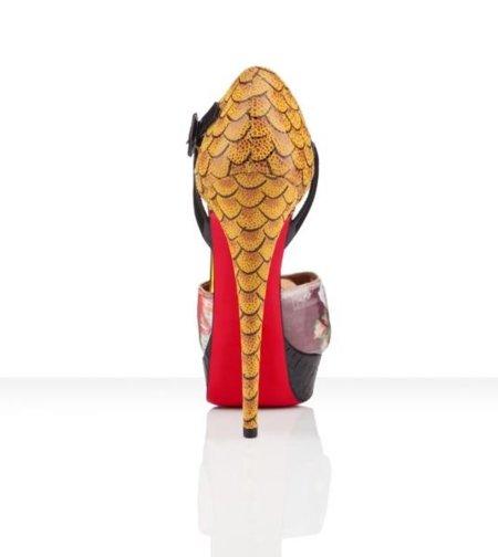 Christian Louboutin Primavera-Verano 2012: el exceso en un zapato