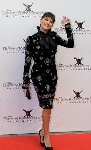 El look de Penélope Cruz en la premiere en Rusia