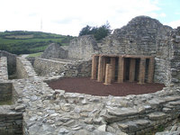 Villa Veranes: ruinas romanas en Gijón