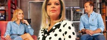 Terelu Campos pasa de 'dar cera' telecinquera a todo pichimichi a 'pulir #0' como presentadora ¡Menudo puestazo!