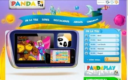 Ya se puede ver el Canal Panda en el iPad y en el iPhone