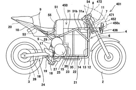 Moto Electrica Kawasaki 4