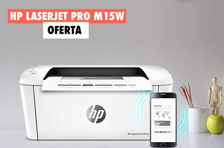 La impresora láser más vendida de Amazon vuelve a estar disponible (y con descuento): hoy tienes la HP LaserJet Pro M15W por 83 euros