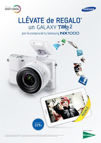 Samsung NX1000 en El Corte Inglés