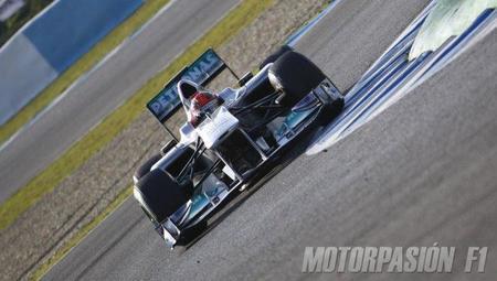Michael Schumacher, el más rápido en Jerez