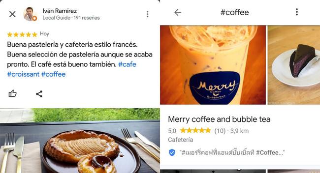Los hashtags llegan a las reseñas en Google Maps: así se usan