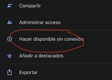 Acceder Offline
