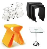 Mesas auxiliares de diseño de Umbra