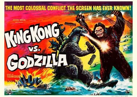 'King Kong contra Godzilla': un histórico y delirante enfrentamiento con sabor a versión primitiva de 'Pressing Catch'