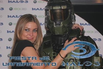 Fiesta de lanzamiento de 'Halo 3' en Madrid