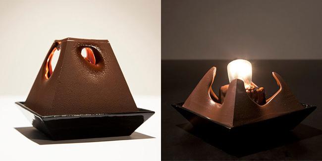 Lámpara chocolate 2