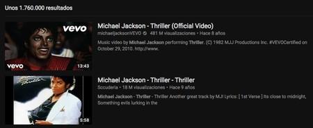 Videoclips Youtube