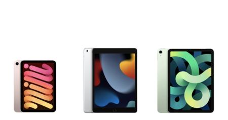 Comparativa entre el iPad mini, el iPad y el iPad Air: diferencias de precio y características