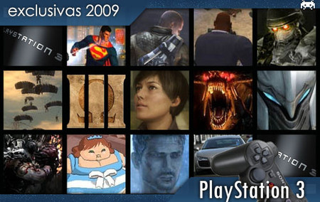 PS3: las exclusivas de 2009