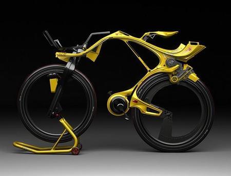 El audaz diseño de la futurista bicicleta eléctrica INgSOC