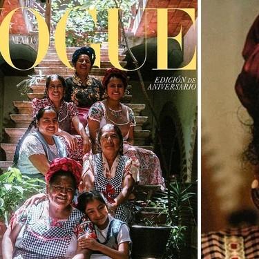 La cocinera tradicional mexicana Abigail Mendoza es la portada de Vogue México