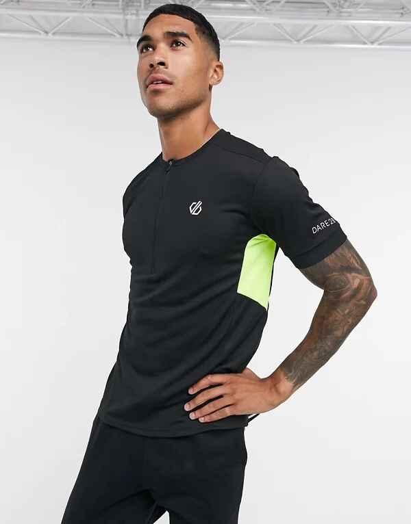 Camiseta de entrenamiento negra de punto Equal de Dare 2b