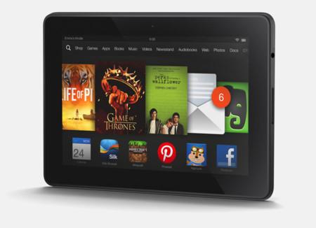Amazon Kindle Fire HDX 7 ya se vende en España