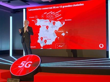 El roaming 5G de Vodafone ya está disponible en 55 ciudades europeas