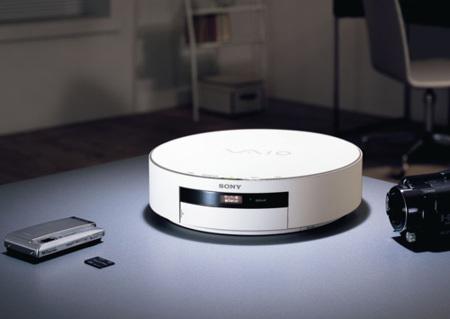 Sony VAIO HS1, servidor de ficheros multimedia