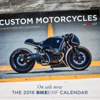Ya a la venta el calendario 2016 de Bike Exif