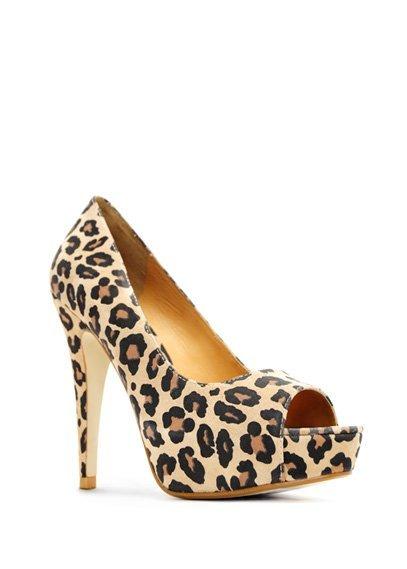 zapato leopardo mango