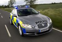 La policía británica prueba el Jaguar XF