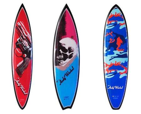 Pop-art Surf Andy Warhol y Tim Bessell