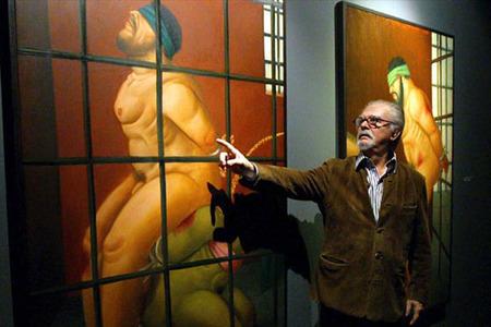 Fernando Botero en Abugail
