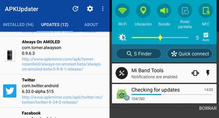 No te pierdas APKUpdater: mantiene tus aplicaciones actualizadas sin necesidad de Google Play