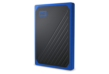 Wd My Passport Go Ssd Blue