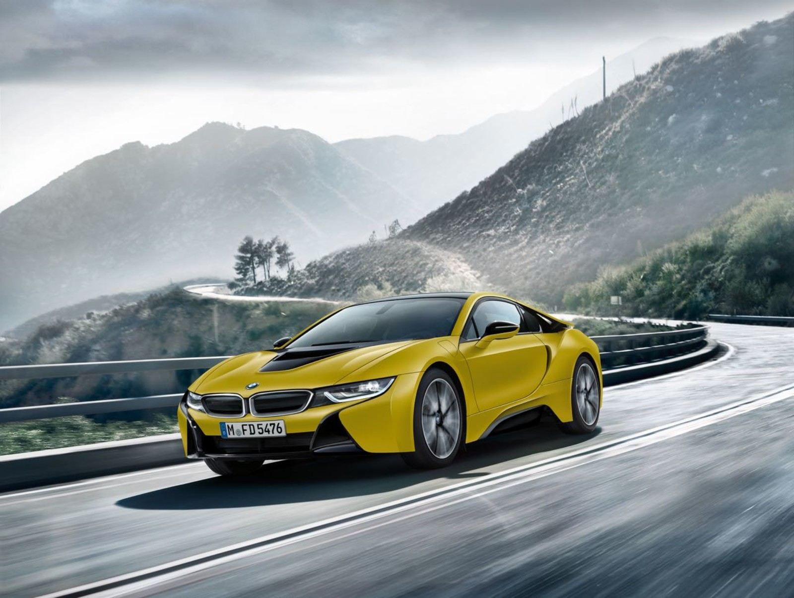 Foto de BMW i8 Protonic Frozen Yellow Edition (1/9)