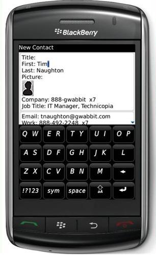 gwabbit importa los datos de contactos desde el correo electrónico