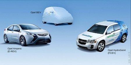 Coches eléctricos Opel