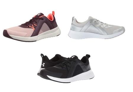 Desde 27,46 euros podemos hacernos con estas zapatillas Under Armour UA W Intent TR gracias a Amazon