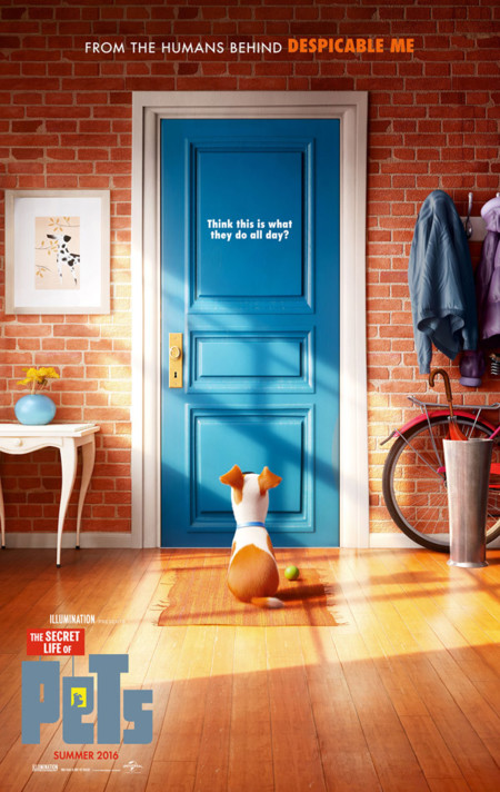 Póster de Mascotas (The Secret Life Of Pets)