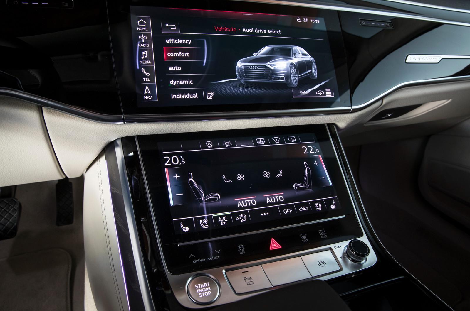 Foto de Audi A8 2018 (presentación) (23/81)