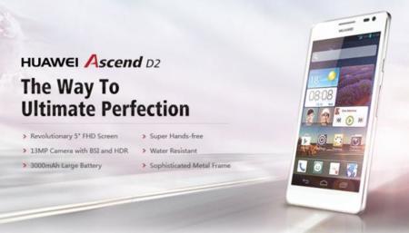 Huawei Ascend D2 specs