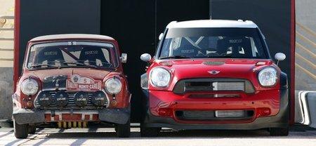 El Mini Countryman en acción, cortesía del equipo Mini WRC