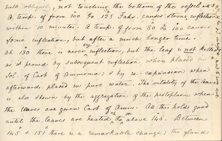 Letter Charles R Darwin To John Burdon Sanderson July 25 1873 Page 3 14267996877