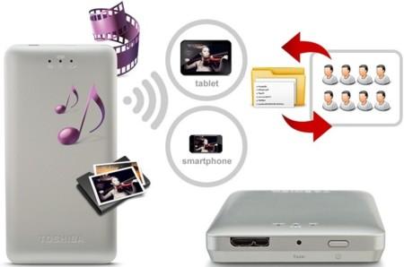 Canvio Aeromobile Wireless SSD, la nube doméstica de Toshiba para tu smartphone