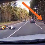 Cosas de Rusia: cuando vas disfrutando de tu EBR 1190RX y te ataca una rueda asesina