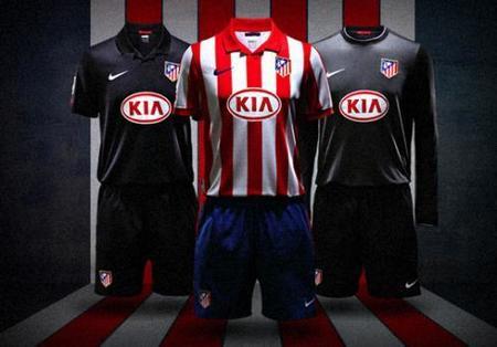 Nike vestirá de negro al Atlético de Madrid